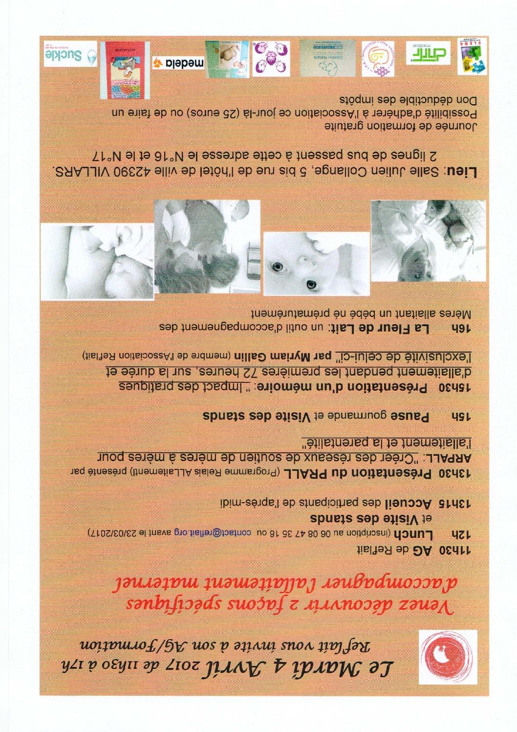 Reflait Information Pour L Allaitement