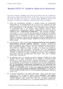 thumbnail of 20_M PILLOT_Maladie-COVID-19-Epidémie-Maternité-Allaitement
