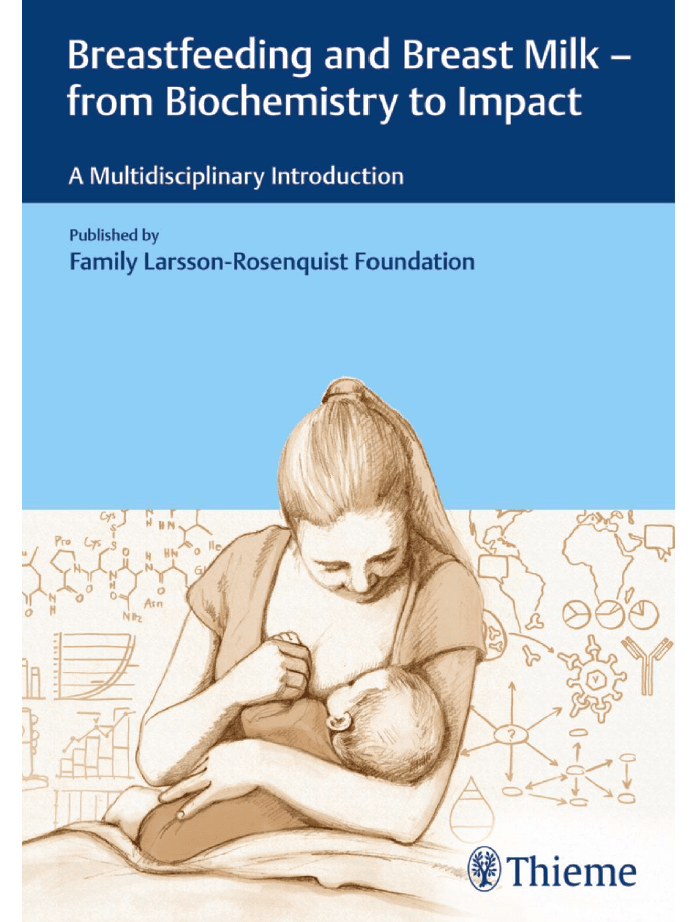Couverture du livre gratuit sur l'allaitement breastfeeding and breast milk