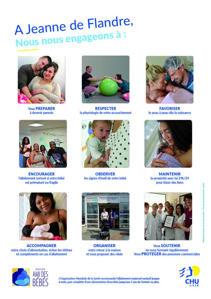 charte de la maternité Jeanne de flandre