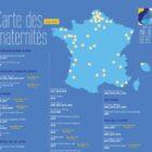 carte française des maternités labellisées IHAB