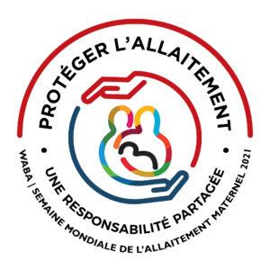 logo de la semaine mondiale de l'allaitement maternel 2021